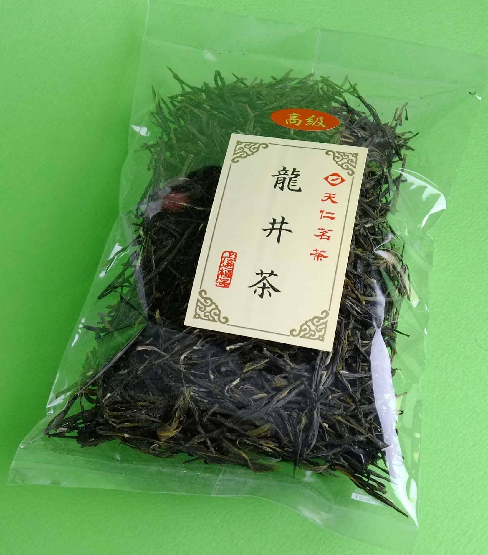 龍井茶高級50g¥750送料こみ