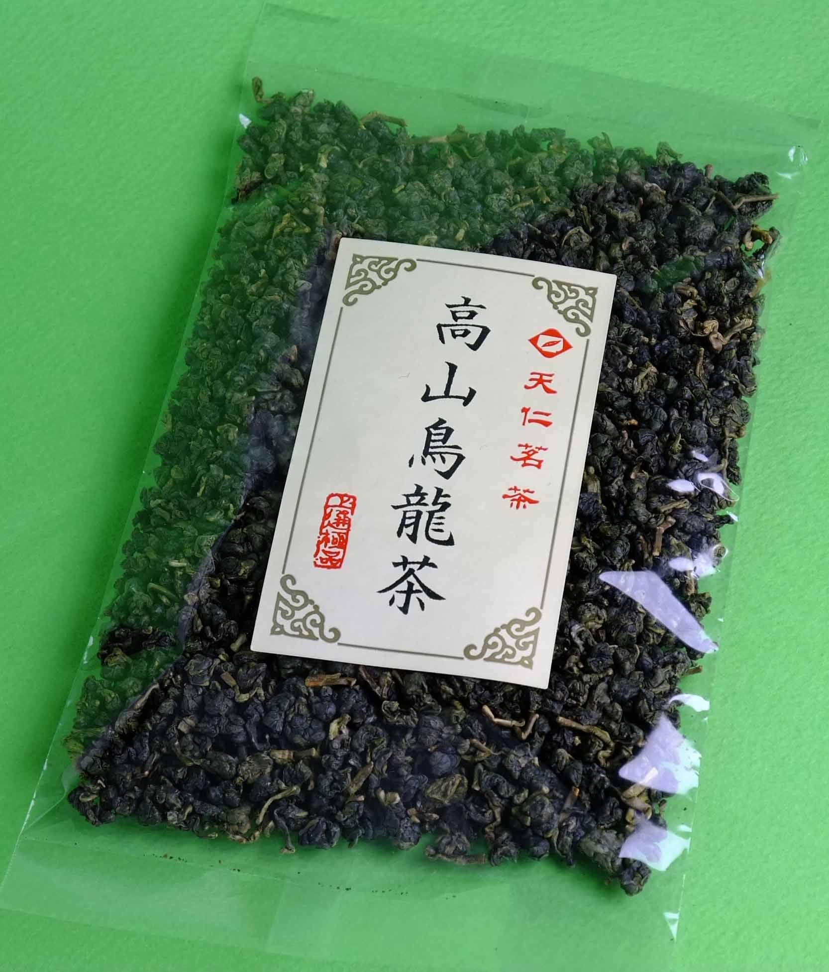 天仁茗茶 高山烏龍茶100g