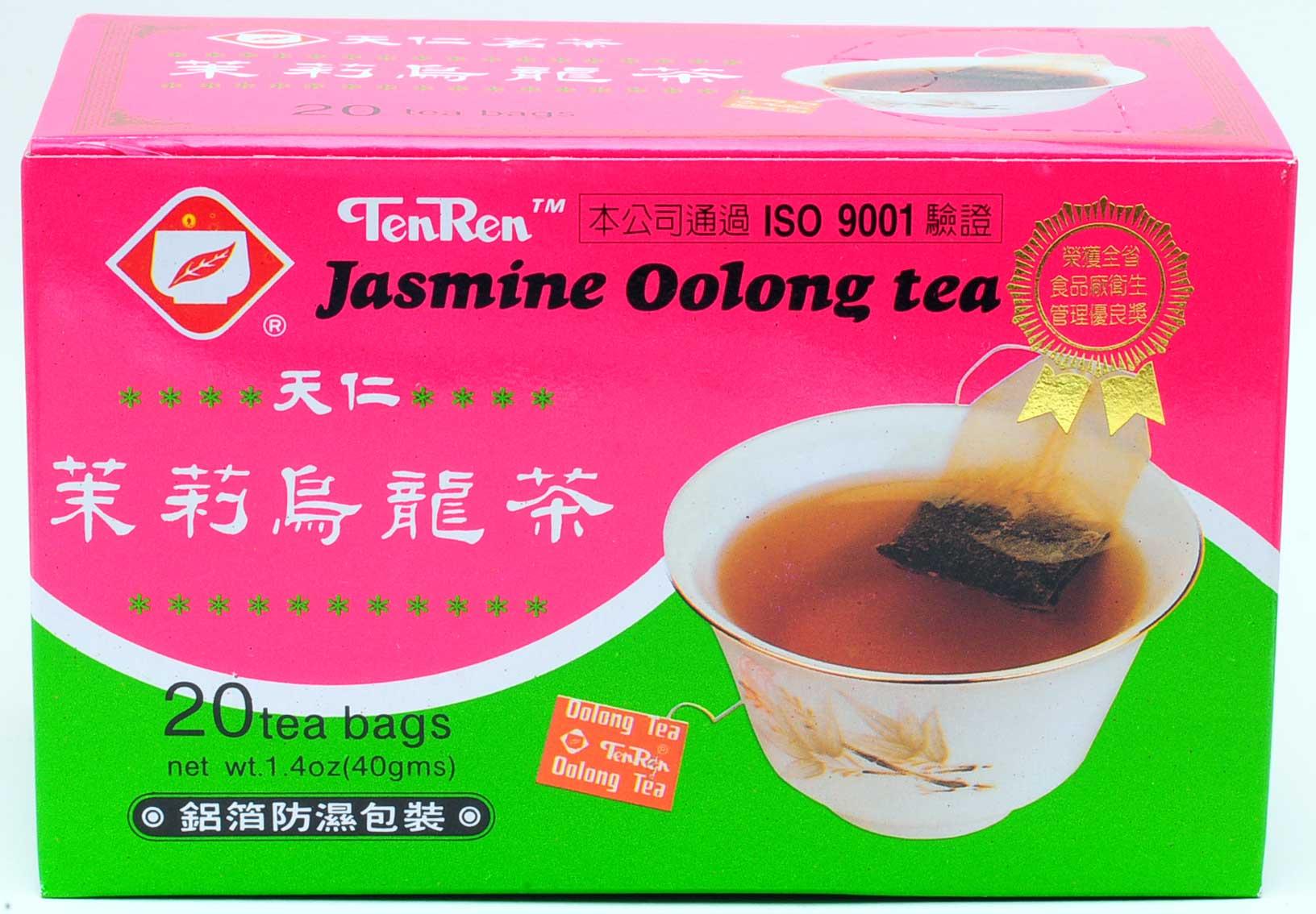 天仁茗茶 茉莉烏龍茶ティーバッグ 20バッグ