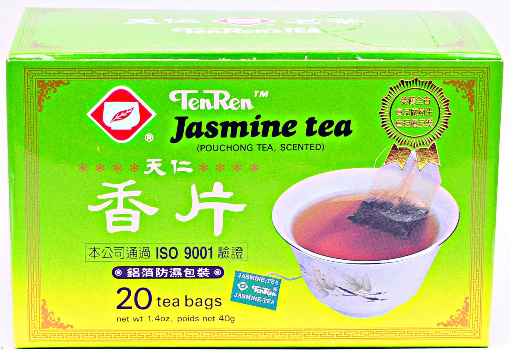 天仁茗茶 香片(ジャスミン清茶)ティーバッグ 20バッグ